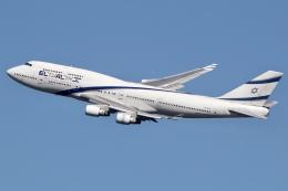 JRF spotterさんが、ジョン・F・ケネディ国際空港で撮影したエル・アル航空 747-458の航空フォト(飛行機 写真・画像)