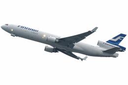 jun☆さんが、香港国際空港で撮影したフィンエアー MD-11Fの航空フォト(飛行機 写真・画像)