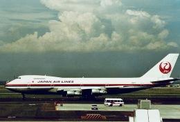 やまモンさんが、羽田空港で撮影した日本航空 747SR-46の航空フォト(飛行機 写真・画像)