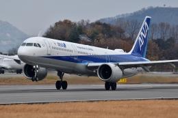 qooさんが、高松空港で撮影した全日空 A321-272Nの航空フォト(飛行機 写真・画像)
