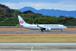 timeさんが、長崎空港で撮影した日本航空 737-846の航空フォト(飛行機 写真・画像)