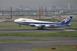 もぐ3さんが、羽田空港で撮影した全日空 747-481(D)の航空フォト(飛行機 写真・画像)