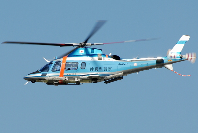 jun☆さんが、名古屋飛行場で撮影した沖縄県警察 A109E Powerの航空フォト(飛行機 写真・画像)