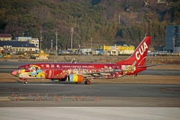 JA8589さんが、福岡空港で撮影した中国聯合航空 737-89Pの航空フォト(飛行機 写真・画像)