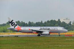 ポン太さんが、成田国際空港で撮影したジェットスター A320-232の航空フォト(飛行機 写真・画像)