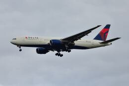 ポン太さんが、成田国際空港で撮影したデルタ航空 777-232/ERの航空フォト(飛行機 写真・画像)