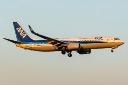 Ariesさんが、福岡空港で撮影した全日空 737-8ALの航空フォト(飛行機 写真・画像)