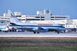 パール大山さんが、マイアミ国際空港で撮影したピードモント航空 737-2A1の航空フォト(飛行機 写真・画像)