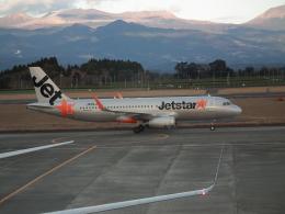 ヒコーキグモさんが、鹿児島空港で撮影したジェットスター・ジャパン A320-232の航空フォト(飛行機 写真・画像)