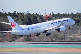 航空フォト:JA864J 日本航空 787-9