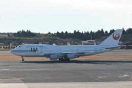 もぐ3さんが、成田国際空港で撮影した日本航空 747-446の航空フォト(飛行機 写真・画像)
