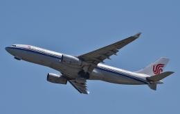 鉄バスさんが、関西国際空港で撮影した中国国際航空 A330-243の航空フォト(飛行機 写真・画像)
