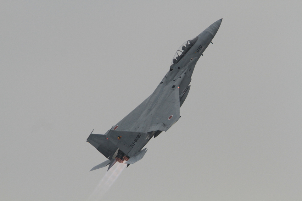TAK_HND_NRTさんの航空自衛隊 Mitsubishi F-15DJ Eagle (32-8080) 航空フォト