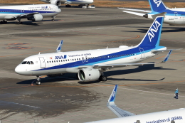 Gripen-YNさんが、羽田空港で撮影した全日空 A320-271Nの航空フォト(飛行機 写真・画像)