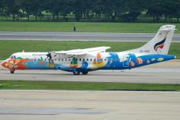 jun☆さんが、ドンムアン空港で撮影したバンコクエアウェイズ ATR-72-500 (ATR-72-212A)の航空フォト(飛行機 写真・画像)