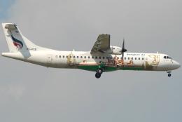 jun☆さんが、スワンナプーム国際空港で撮影したバンコクエアウェイズ ATR-72-500 (ATR-72-212A)の航空フォト(飛行機 写真・画像)
