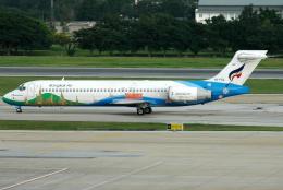 jun☆さんが、ドンムアン空港で撮影したバンコクエアウェイズ 717-231の航空フォト(飛行機 写真・画像)