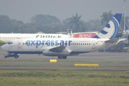 jun☆さんが、スカルノハッタ国際空港で撮影したエクスプレス・エア 737-284/Advの航空フォト(飛行機 写真・画像)
