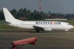 jun☆さんが、スカルノハッタ国際空港で撮影したバタビア航空 737-33Aの航空フォト(飛行機 写真・画像)