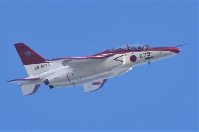 家 電 鐡さんが、芦屋基地で撮影した航空自衛隊 T-4の航空フォト(飛行機 写真・画像)