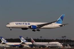 マーサさんが、成田国際空港で撮影したユナイテッド航空 787-9の航空フォト(飛行機 写真・画像)