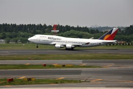 もぐ3さんが、成田国際空港で撮影したフィリピン航空 747-4F6の航空フォト(飛行機 写真・画像)