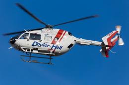 (新)ふぁんとむ改さんが、名古屋飛行場で撮影したセントラルヘリコプターサービス BK117C-2の航空フォト(飛行機 写真・画像)