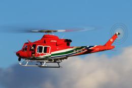 Assk5338さんが、松本空港で撮影した長野県消防防災航空隊 412EPIの航空フォト(飛行機 写真・画像)
