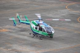 ゆうゆう@NGO さんが、名古屋飛行場で撮影した兵庫県消防防災航空隊 BK117C-2の航空フォト(飛行機 写真・画像)
