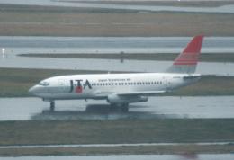 プルシアンブルーさんが、羽田空港で撮影した日本トランスオーシャン航空 737-205/Advの航空フォト(飛行機 写真・画像)