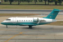 jun☆さんが、ドンムアン空港で撮影したロンドン・エア・サービス CL-600-2B16 Challenger 604の航空フォト(飛行機 写真・画像)
