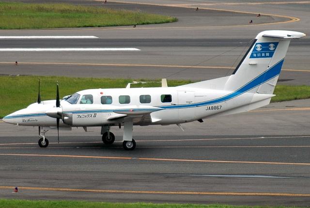 jun☆さんが、伊丹空港で撮影した毎日新聞社 PA-42-1000 Cheyenne IVの航空フォト(飛行機 写真・画像)