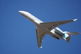 かろすけさんが、宮崎空港で撮影したウィルミントン・トラスト・カンパニー BD-700 Global Express/5000/6000の航空フォト(飛行機 写真・画像)