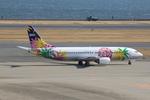 ふじいあきらさんが、羽田空港で撮影したスカイネットアジア航空 737-4Y0の航空フォト(飛行機 写真・画像)