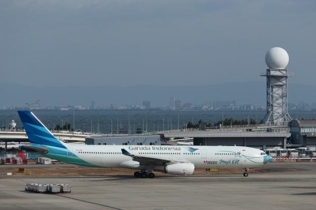 mat-matさんが、関西国際空港で撮影したガルーダ・インドネシア航空 A330-343Xの航空フォト(飛行機 写真・画像)