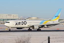 YouKeyさんが、新千歳空港で撮影したAIR DO 767-381/ERの航空フォト(飛行機 写真・画像)