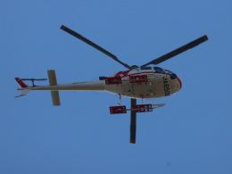 丸めがねさんが、東京ヘリポートで撮影した朝日航洋 AS350B3 Ecureuilの航空フォト(飛行機 写真・画像)