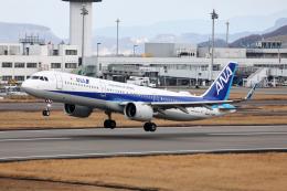 express999さんが、高松空港で撮影した全日空 A321-272Nの航空フォト(飛行機 写真・画像)