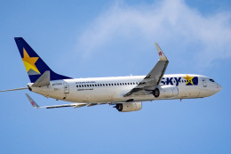 kikiさんが、那覇空港で撮影したスカイマーク 737-8ALの航空フォト(飛行機 写真・画像)