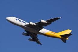 赤ちんさんが、成田国際空港で撮影したポーラーエアカーゴ 747-46NF/SCDの航空フォト(飛行機 写真・画像)