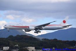 れんしさんが、福岡空港で撮影した航空自衛隊 777-3SB/ERの航空フォト(飛行機 写真・画像)