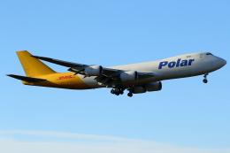 こだしさんが、成田国際空港で撮影したポーラーエアカーゴ 747-87UF/SCDの航空フォト(飛行機 写真・画像)