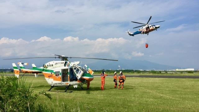 jo7ilpさんが、富士川滑空場で撮影した静岡県消防防災航空隊 BK117C-1の航空フォト(飛行機 写真・画像)