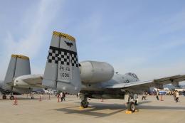 TAK_HND_NRTさんが、岩国空港で撮影したアメリカ空軍 A-10C Thunderbolt IIの航空フォト(飛行機 写真・画像)