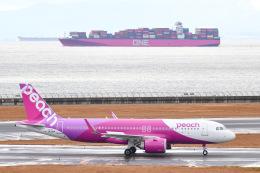 tamtam3839さんが、中部国際空港で撮影したピーチ A320-251Nの航空フォト(飛行機 写真・画像)