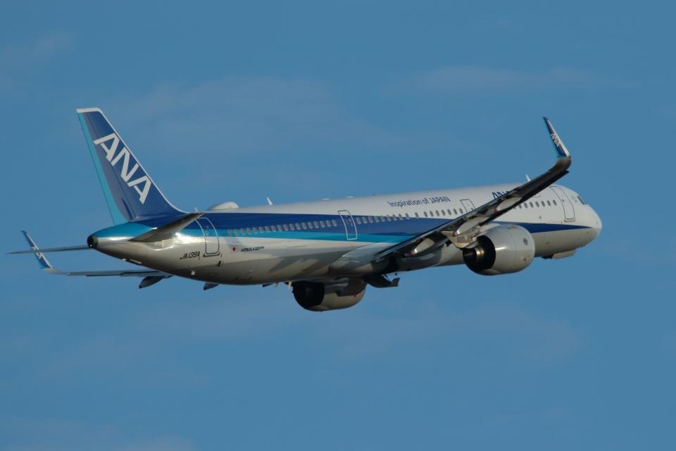 ko_zo.k@KMJさんの全日空 Airbus A321neo (JA139A) 航空フォト