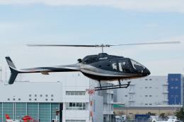 よっしぃさんが、東京ヘリポートで撮影した日本個人所有 505 Jet Ranger Xの航空フォト(飛行機 写真・画像)
