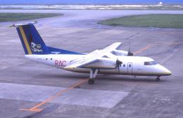 プルシアンブルーさんが、久米島空港で撮影した琉球エアーコミューター DHC-8-103 Dash 8の航空フォト(飛行機 写真・画像)