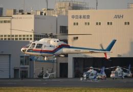 あまるめさんが、東京ヘリポートで撮影した東邦航空 AS355F2 Ecureuil 2の航空フォト(飛行機 写真・画像)