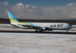 えのびよーんさんが、新千歳空港で撮影したAIR DO 767-381/ERの航空フォト(飛行機 写真・画像)